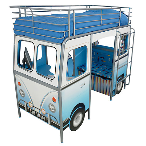 Buy De Van Surfer Cabin Bed, Blue Online at johnlewis.com