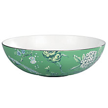 Buy Jasper Conran for Wedgwood Chinoiserie Green Serving Bowl, 30cm Online at johnlewis.com