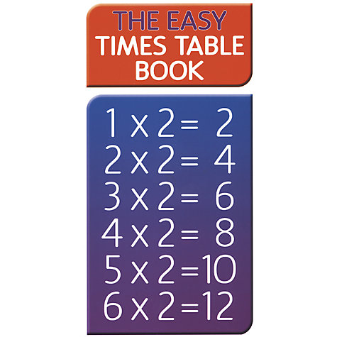 Buy Easy Times Table Book Online at johnlewis.com