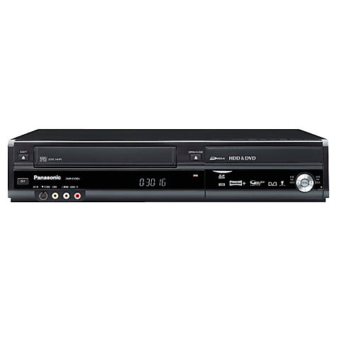 Buy Panasonic DMR-EX99V 250GB VCR/HDD/DVD Recorder/Digital Receiver Online at johnlewis.com
