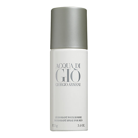 Buy Giorgio Armani Acqua di Giò Homme Deodorant Spray, 150ml Online at johnlewis.com