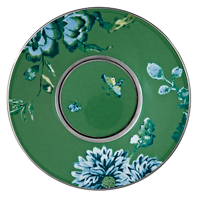 Image of Jasper Conran for Wedgwood Chinoiserie Green Espresso Saucer