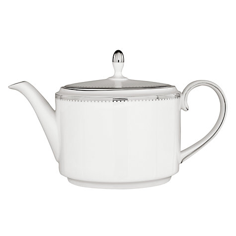Buy Vera Wang for Wedgwood Grosgrain Teapot, 0.66L Online at johnlewis.com