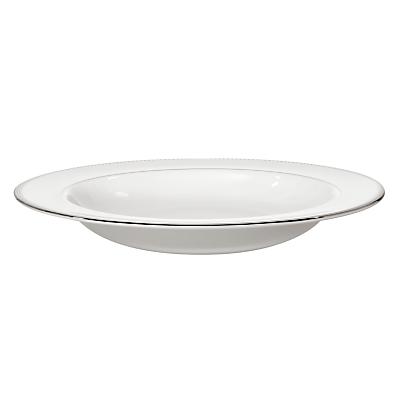 Vera Wang for Wedgwood Grosgrain Pasta Plate, White, Dia.28cm