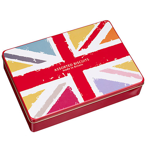 Buy Union Jack Biscuit Assortment, 500g Online at johnlewis.com