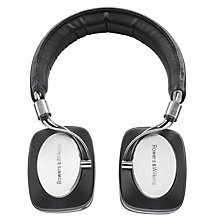 Buy B&W P5 On-Ear Headphones, Silver Online at johnlewis.com