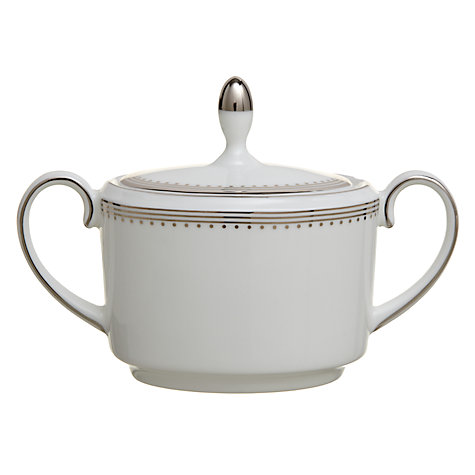 Buy Vera Wang for Wedgwood Grosgrain Covered Sugar Box Online at johnlewis.com