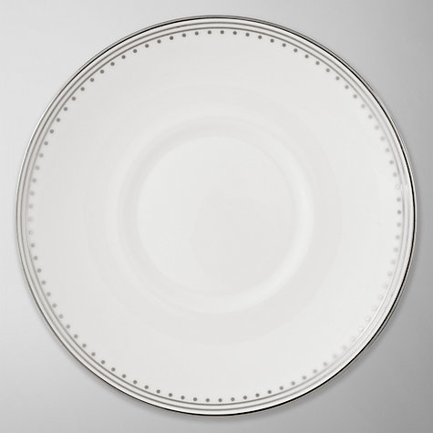 Buy Vera Wang for Wedgwood Grosgrain Espresso Saucer Online at johnlewis.com