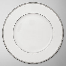 Buy Vera Wang for Wedgwood Grosgrain Plates, White/Grey Online at johnlewis.com