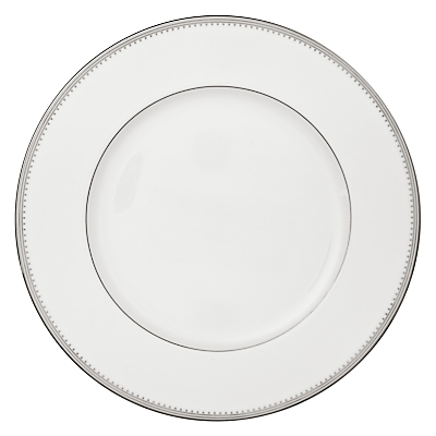 Vera Wang for Wedgwood Grosgrain Plates, White