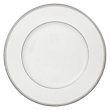 Buy Vera Wang for Wedgwood Grosgrain Plates, White Online at johnlewis.com