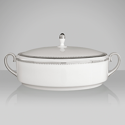 Vera Wang for Wedgwood Grosgrain Covered Vegetable Dish, 1.4L