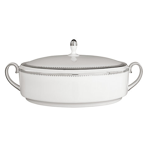 Buy Vera Wang for Wedgwood Grosgrain Covered Vegetable Dish, 1.4L Online at johnlewis.com