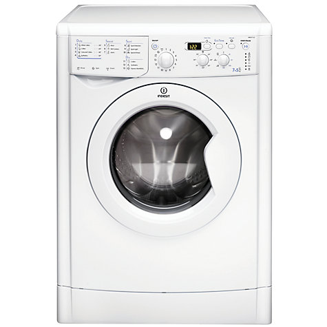 Buy Indesit IWDD7123 Washer Dryer, 7kg Wash/5kg Dry Load, B Energy Rating, 1200rpm Spin, White Online at johnlewis.com