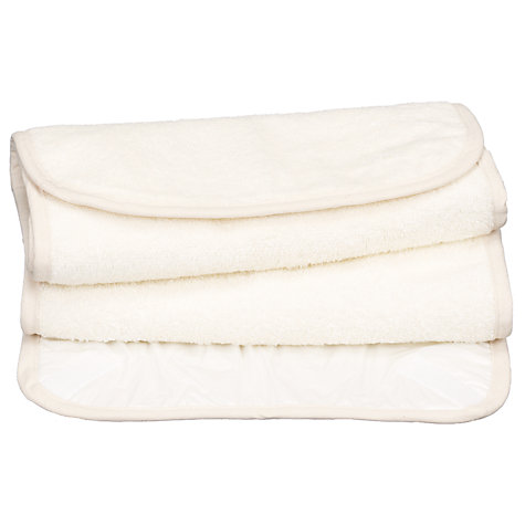Buy John Lewis Changing Mat Liners, Pack of 2, Natural Online at johnlewis.com