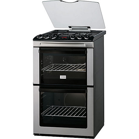 Buy Zanussi ZCG551GXC Gas Cooker, Stainless Steel Online at johnlewis.com