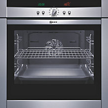 Buy Neff B45E42N0GB Single Electric Oven, Stainless Steel Online at johnlewis.com