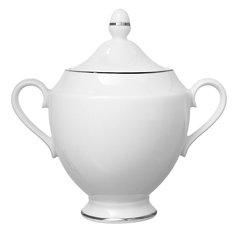 Buy Wedgwood Signet Platinum Sugar Box Online at johnlewis.com
