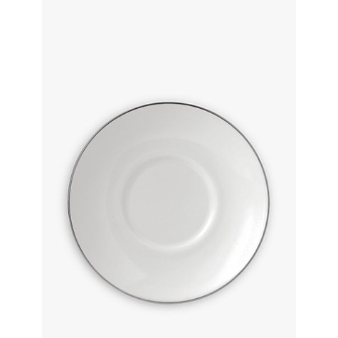 Buy Wedgwood Signet Platinum, Coffee Saucer Online at johnlewis.com