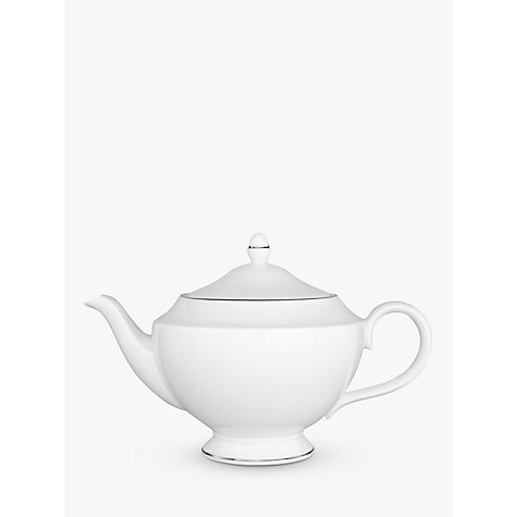 Buy Wedgwood Signet Platinum Teapot, 1.2L Online at johnlewis.com