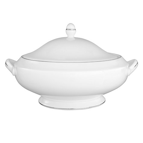 Buy Wedgwood Signet Platinum Covered Vegetable Dish Online at johnlewis.com