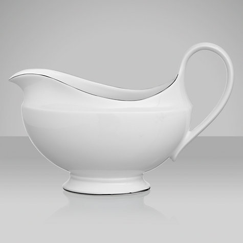 Buy Wedgwood Signet Platinum Sauce Boat Online at johnlewis.com
