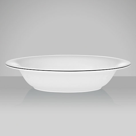 Buy Wedgwood Signet Platinum Open Vegetable Dish, L25cm Online at johnlewis.com