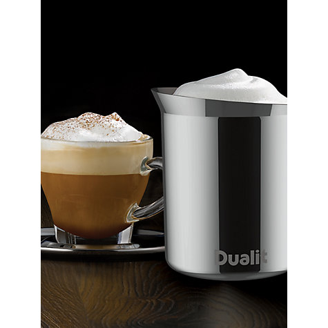 Buy Dualit 85101 Stainless Steel Frothing Jug Online at johnlewis.com