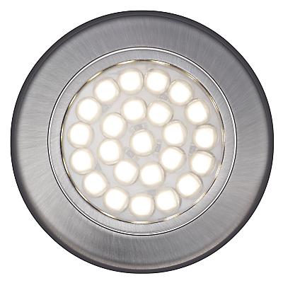 John Lewis Warm LED Circular Flat Under Cabinet Lights, Set of 2