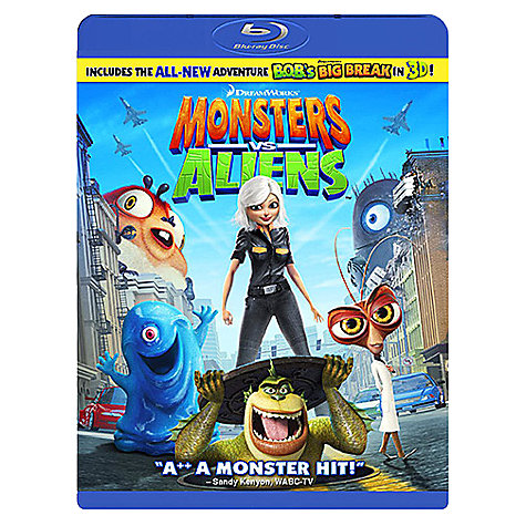 Buy Samsung SSG-P2100T/XC 3D Active Glasses, 2 Pairs with Monsters vs Aliens Blu-ray Disc Online at johnlewis.com