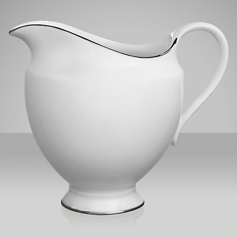 Buy Wedgwood Signet Platinum Cream Jug Online at johnlewis.com