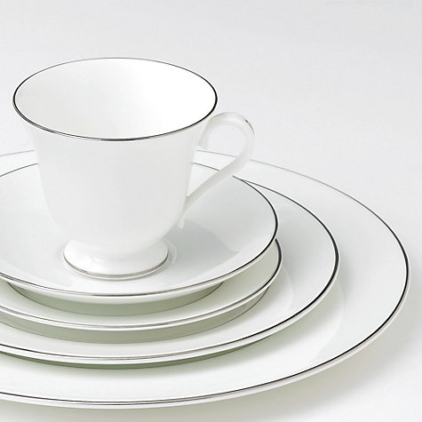 Buy Wedgwood Signet Platinum Oval Dish, 35cm Online at johnlewis.com