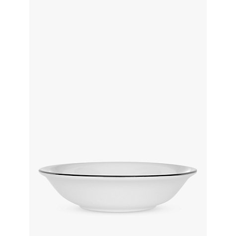 Buy Wedgwood Signet Platinum Oatmeal Bowl, White, Dia.16cm Online at johnlewis.com