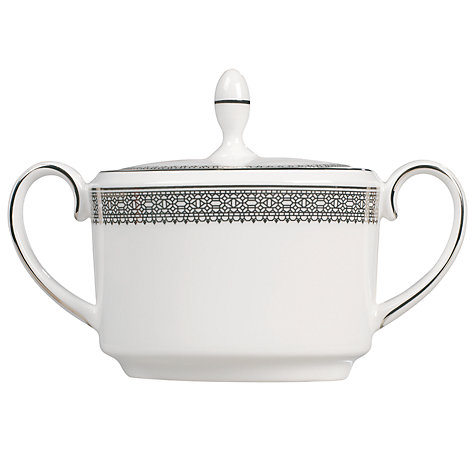 Buy Vera Wang for Wedgwood Lace Platinum Covered Sugar Box Online at johnlewis.com