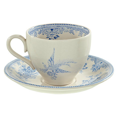 Buy Burleigh Asiatic Pheasants Tea Cup & Saucer Online at johnlewis.com