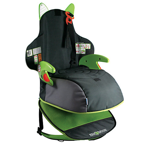 Buy Trunki Boostpak Car Booster Seat, Black/Green Online at johnlewis.com