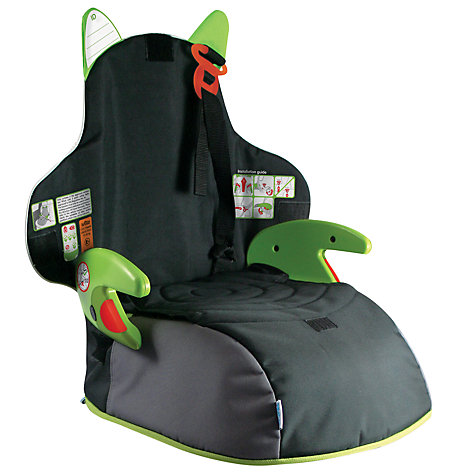 Buy Trunki Boostpak Group 2/3 Car Booster Seat, Black/Green Online at johnlewis.com