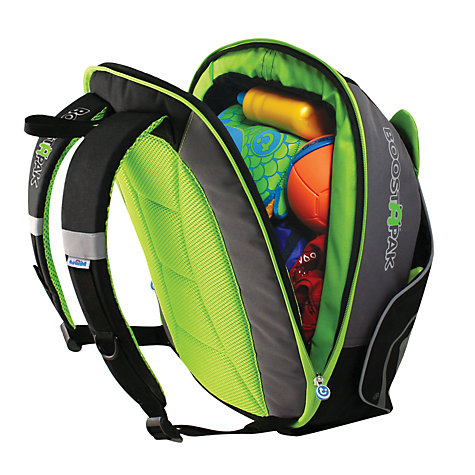 Buy Trunki BoostApak Car Booster Seat, Black/Green Online at johnlewis.com