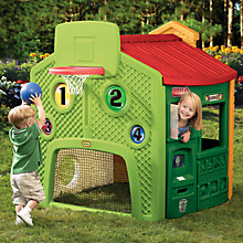 Buy Little Tikes Town Play House Evergreen Online at johnlewis.com