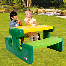 Buy Little Tikes Large Picnic Table, Evergreen Online at johnlewis.com