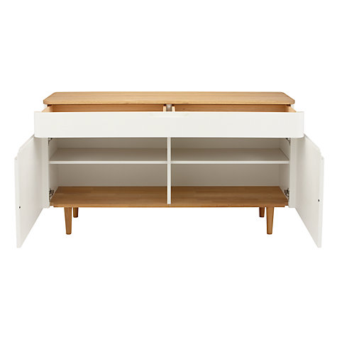Buy Ebbe Gehl for John Lewis Mira Sideboard, White Online at johnlewis.com