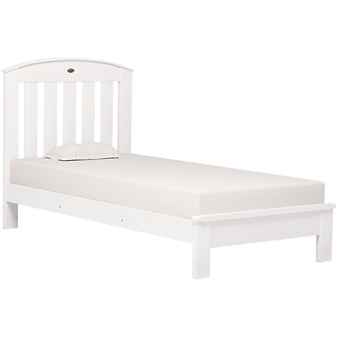 Buy Boori Classic Single Bedstead, White Online at johnlewis.com