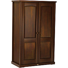 Buy Boori Nursery Wardrobe, English Oak Online at johnlewis.com