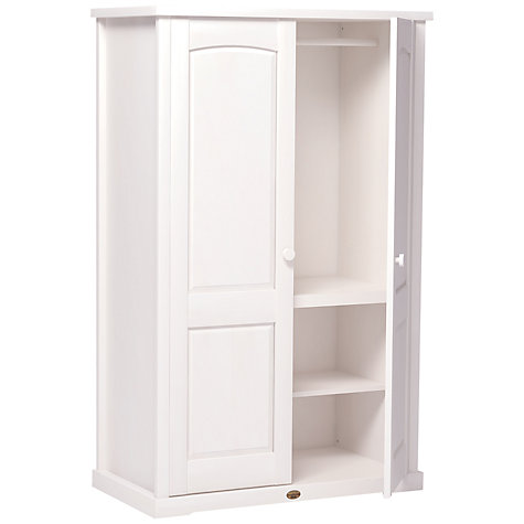 Buy Boori Nursery Wardrobe, White Online at johnlewis.com