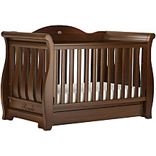 Buy Boori Sleigh Royale Cot/Cotbed, English Oak Online at johnlewis.com