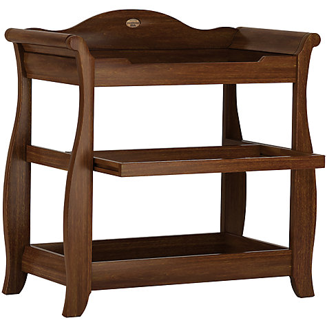 Buy Boori Sleigh Changer, English Oak Online at johnlewis.com