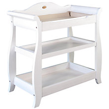Buy Boori Sleigh Changer, Soft White Online at johnlewis.com