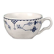 Buy Johnson Brothers Blue Denmark Cup & Saucer Online at johnlewis.com