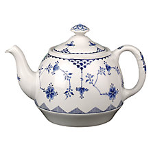 Buy Johnson Brothers Blue Denmark Teapot, 1.3L Online at johnlewis.com