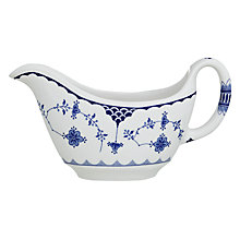 Buy Johnson Brothers Blue Denmark Sauce Boat Online at johnlewis.com
